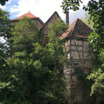 Das Wasserschloss der Freiherren von Thüngen.