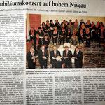 Konzertbericht in der Neuwieder Ausgabe der Rhein-Zeitung.