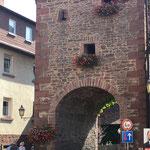 Das Rienicker Tor - ein Teil der ehemaligen Stadtbefestigung.