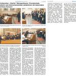 Bericht im Mitteilungsblatt für den Bereich der Verbandgemeinde Weißenthurm, Ausgabe 03/2018