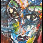 Acryl auf Leinwand, ca. H 80 cm x B 60 cm