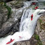 Wasserfall, Rizzanese auf Korsika