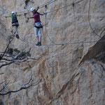 Klettersteig in Südfrankreich
