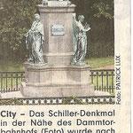 Pressebericht zur Restaurierung.