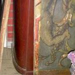 Detailansicht der verschiedenen Schichten.