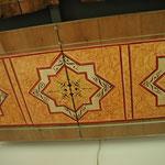 Rekonstruierte Deckenmalerei im Museum  des Schlosses