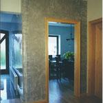 Stucco Lustro in einem klaren sachlichen Grauton.