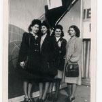 rène Obarjanski en compagnie de Marie-Louise et Lydie-Christiane Tendero