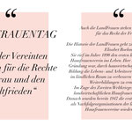 08.03.2021 - WELTFRAUENTAG