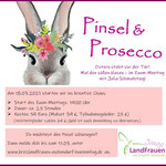 18.03.2021 - Online-Malkurs mit Pinsel & Prosecco