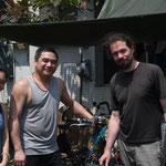 Providentiel réparateur de vélo