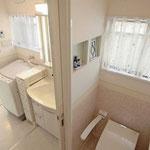 トイレも癒しの空間