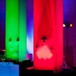 amorphia cubes können in fast allen gewünschten Farben ausgeleuchtet werden. Foto: Boris Breuer