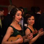 """Musikalische Einlagen - Inszenierung der """"Vintage Suite"""" für die Aareal Bank im März 2015 (Fotos Heinrich von Schimmer)"""