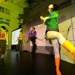 Inszenierung einer 125 Jahre Zeitreise Show für den Deutschen Tapenverband Oktober 2014 ( Die 70s)