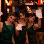 """Good bye - Inszenierung der """"Vintage Suite"""" für die Aareal Bank im März 2015 (Fotos Heinrich von Schimmer)"""