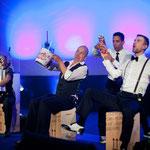 Inszenierung für die Verleihung des Deutschen Wirtschaftsfilmpreises August 2013