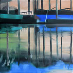 Bootsstueck 3, Öl auf LW, 2013, 30 x 30    (saled)
