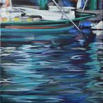 Bootsstueck7, Öl auf LW, 2014, 40 x 40    (saled)