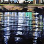 Wasserstueck11, Öl auf LW, 2017, 30 x 30
