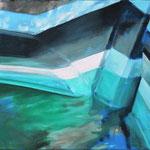 Bootsstück 10, Öl auf LW, 2015, 40 x 50