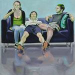 Sofa 4hoch2 #2, Öl auf Leinwand, 2014, 110 x 110   (saled)