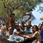 work hard, play hard: excursion to Butterfly Valley