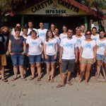 Our Sea Turtle Team 2014!