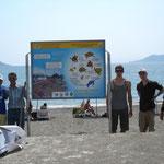 Neue Informationstafeln für Touristen werden aufgestellt