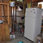 Unsere Campküche mit Kühlschrank