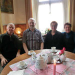 Foto: Bernhard Smit  /  Radfahrergruppe aus Leer, Gerd u. Herma Korporal u. Rudi u. Renate Fenske