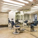 Barber shop Cigare à Moustache par le studio Mathias Kiss