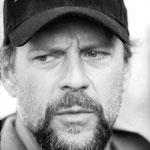 """Bruce Willis, pour """"Armageddon"""". Festival de Cannes 1998"""