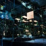 Installation de l'artiste Mathias Kiss / La Kiss Room