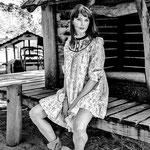 Frederique Bell, sur le tournage de Fernand Berenguer 2019