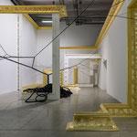 Installation de Mathias Kiss au Palais de Tokyo