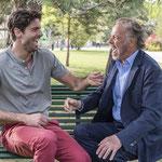 Tom Leeb, Michel Leeb, sur le tournage de Fernand Berenguer 2019