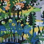 虹の森/240cm×320cm/2011