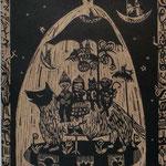 深い夜の小さな物語/10cm×13cm/2011