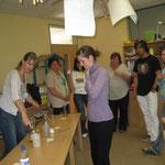 Bild 2Mitarbeiterschulung für Erzieher von Kindertagesstätten Info-Stand beim Tag der offenen Tür in einer Kita