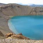 Kratersee im Hochtemperaturgebiet