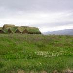 Grassodenhäuser.
