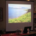 Island, ähm, Lannoch-Bilder und Wellenrauschen zur Einstimmung