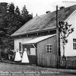 Gasthaus Swatosch in Sofienthal (Černá Řeka), direkt an der Hauptstraße.