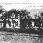 """Das Wirtshaus """"Becherer"""" in Althütten, oft fälschlich als Bahnhof bezeichnet"""