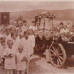 Glockenweihe am 7.10.1923 (Glockengießerei Perner, Budweis)