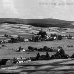 Wassersuppen wuchs schnell. Im Vordergrund Neubäu, die erste Neugründung, 1654 erwähnt.