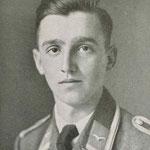 Fähnrich Karlheinz Jaenichen, eines der Opfer vom 3.9.1943 (Quelle: Privatarchiv Michael F. Regnery).