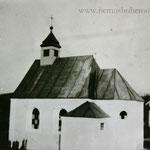 Die Haselbacher Kapelle von der anderen Seite.