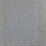Brief eines der Überlebenden des Angriffs vom 25.02.1945 mit fast 60 Toten bei Taus (Domazlice) (Stadtarchiv Furth im Wald, 060)
